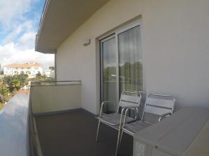 Uma varanda ou terraço em Hotel Recinto