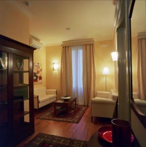 Area soggiorno di Hotel Agathae