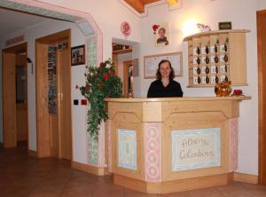 Vstupní hala nebo recepce v ubytování Hotel La Colombina