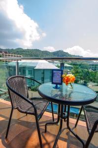 A balcony or terrace at iCheck inn Ao Nang Krabi