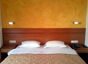 Cama o camas de una habitación en Hotel Rio Athens