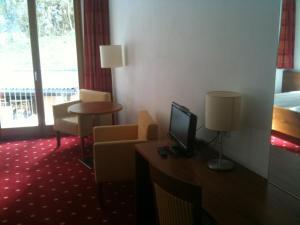 TV o dispositivi per l'intrattenimento presso Hotel Krone