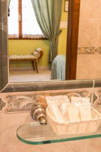 A bathroom at B&B Old Florence Inn