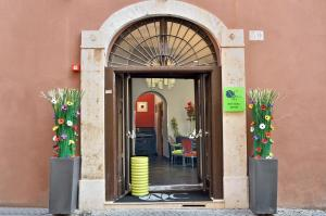 The facade or entrance of Navona Colors Hotel