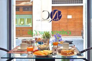 Breakfast options available to guests at Navona Colors Hotel