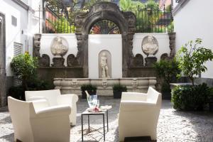 Hall o reception di Hotel Piazza Bellini & Apartments