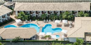 A view of the pool at Oceano Praia Hotel or nearby