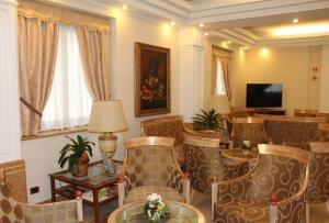 Posezení v ubytování Hotel Mozart