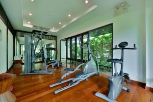 The fitness centre and/or fitness facilities at Bhu Nga Thani Resort & Spa - SHA Plus
