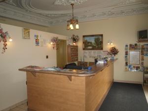 Hall ou réception de l'établissement Hotel Quartier Latin