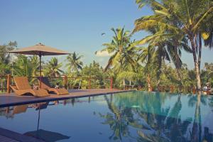 The swimming pool at or near Manyi Village Ubud