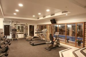 Фитнес-центр и/или тренажеры в Hotel RING