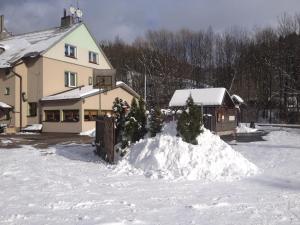 Penzion54 & Restaurace v zimě
