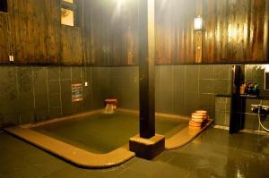 A bathroom at Maruyama Onsen Kojyokan
