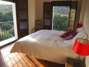 Cama o camas de una habitación en Casa Olea hotel rural