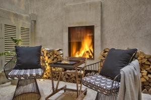 A seating area at Casa Ellul - Small Luxury Hotels of the World