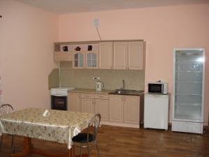 Кухня или мини-кухня в Absolut Inn