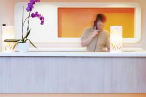 Hall ou réception de l'établissement ibis budget Hotel Brussels Airport