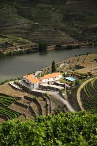 A bird's-eye view of Hotel Rural Quinta Do Pego