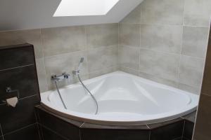 Kúpeľňa v ubytovaní Penzion Bowten