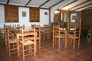 Un restaurante o sitio para comer en Albergue Rural Econatur