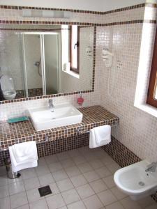A bathroom at Bed and breakfast Villa Dobravac
