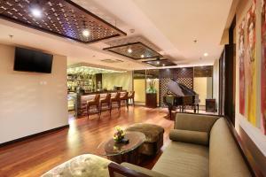 A seating area at Bali Nusa Dua Hotel