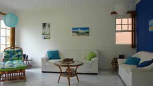 A seating area at Casa Andrea