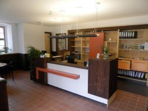 Lobby/Rezeption in der Unterkunft Gästehäuser St. Marienthal
