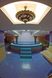 Místnost pro pořádání společenských událostí v hotelu