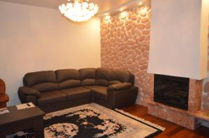 The lounge or bar area at Homestay on Shmitovsky Proyezd