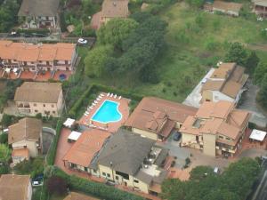 A bird's-eye view of Hotel Duca Della Corgna
