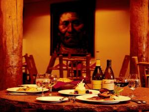 A restaurant or other place to eat at Hotel Santa Fe