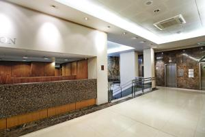 The lobby or reception area at Central Park Hotel