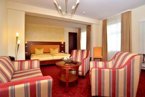 Гостиная зона в Hotel Arena City
