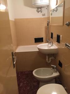 A bathroom at Madesimo Centro