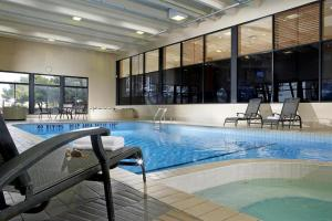The swimming pool at or near Four Points by Sheraton Toronto Airport
