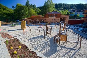 Herní místnost nebo prostor pro děti v ubytování Wellness Hotel Rezidence Ambra
