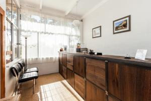 The lobby or reception area at Gulgong Motel