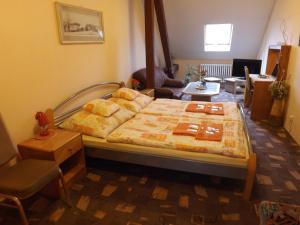 Кровать или кровати в номере Hotel Avion