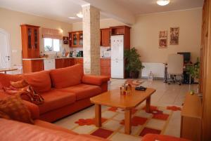 Zona de estar de Villa Italiana