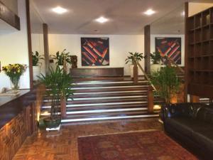 The lobby or reception area at Hotel El Cazar