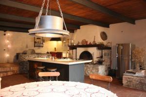 Cucina o angolo cottura di Ai Torchi Vecchi