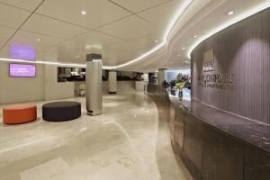 Lobbyn eller receptionsområdet på Marconfort Griego