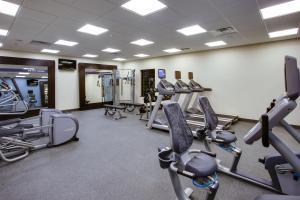 The fitness center and/or fitness facilities at Hampton Inn & Suites Philadelphia/Bensalem