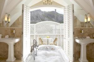 A bathroom at Birkenhead House