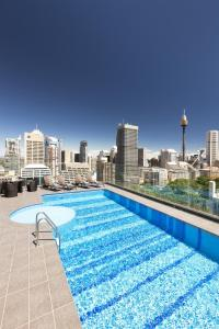 The swimming pool at or near Pullman Sydney Hyde Park