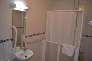 A bathroom at Les Cotils