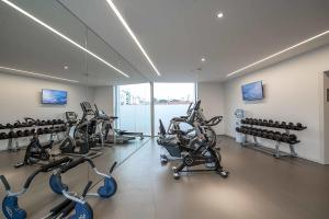 The fitness center and/or fitness facilities at BessaHotel Liberdade
