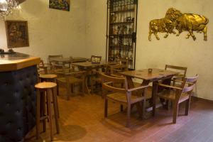 Un restaurante o sitio para comer en Posada Nueva España